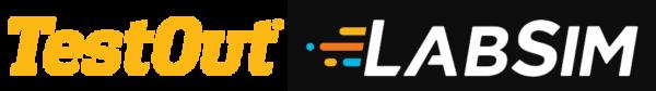 TestOut-Labsim-Logo